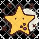 Starfish Fish Sea Icon