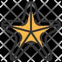 Starfish Seafood Food Icon