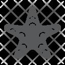 Starfish Animal Aquatic Icon