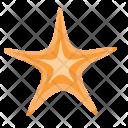 Starfish Star Plant Icon