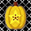 Starfruit Vegetarian Organic Icon