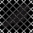 Starling Bird Animal Icon