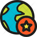 Starred Space Icon