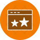 Starred Web Browser Icon