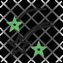 Stars Galaxy Icon