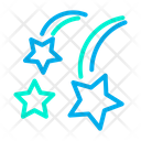 Falling Star Falling Space Icon