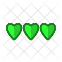Stars Feedback Review Icon