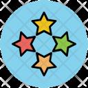 Stars Star Ornaments Icon