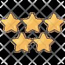 Stars Favorite Ranking Icon