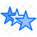 Stars Feedback Ranking Icon