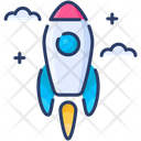 Rocket Start Startup Icon