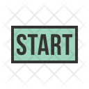 Start Tag Label Icon