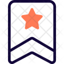 One Stripe Badge With Star Icon
