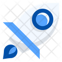 Startup Rocket Growth Icon