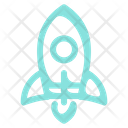 Rocket Launch Start Up Icon