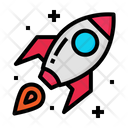 Start Up Rocket Icon