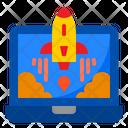 Start Up Rocket Internet Icon