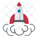Rocket Start Up Icon