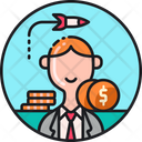 Start Up Business Loans Funding Budget Icon