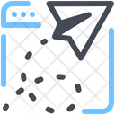 Paper Plane Start Up Browser Icon