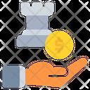 Startegy Coin Dollar Icon