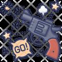 Starting pistol Icon