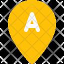 Start Location Pin Icon
