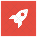 Startup Boost Rocket Icon