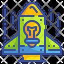 Startup Idea Bulb Icon