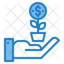 Funding Cash Money Icon