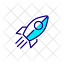Startup Rocket New Startup Icon