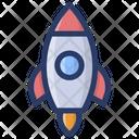 Startup Missile Rocket Icon