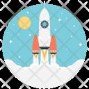Startup Development Rocket Icon