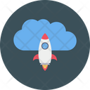 Startup Rocket Boost Icon