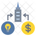 Startup Business Corporation Icon