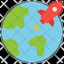 Startup Global Company Globe Icon