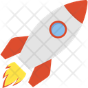 Startup Future Of Banking Rocket Icon