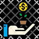 Startup Money Growth Icon
