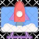 Startup Development Success Icon