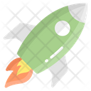 Startup Business Rocket Icon