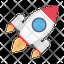 Startup Rocket Market Icon