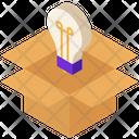 Startup Idea Box Icon