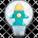 Startup Idea Idea Thinking Icon