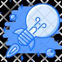 Startup Idea Rocket Icon