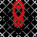 Gear Rocket Setting Icon