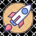 Startup Rocket Launch Rocket Icon