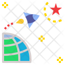 Startups Space Star Icon