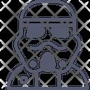 Starwars Soldier Knight Soldier Icon