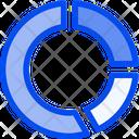 Stat Round Circle Icon