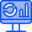 Stat Computer Analytic Icon